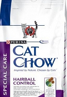 Purina Cat Chow Special Care Hairball Control 2x15kg + prezent